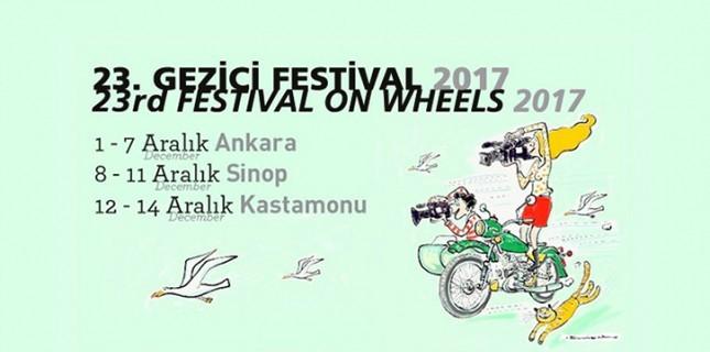 23. Gezici Festival Sinop'a Gidiyor!