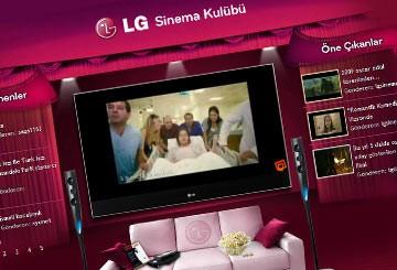 LG Sinema Kulübü Yayında