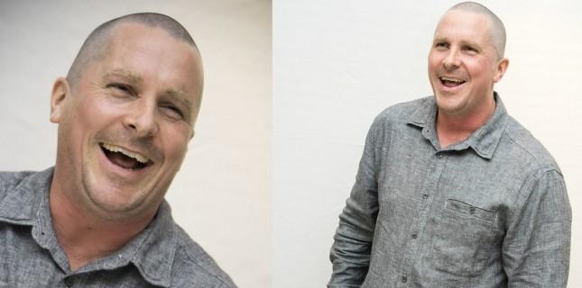 Christian Bale yeni görünümüyle 'Hostiles'ın tanıtımına çıktı