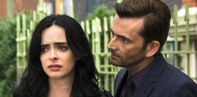 David Tennant, Jessica Jones'a geri dönüyor