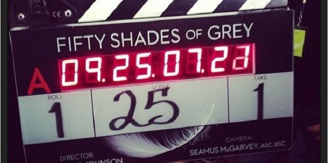 Fifty Shades of Grey Filminin Çekimlerine Başlandı