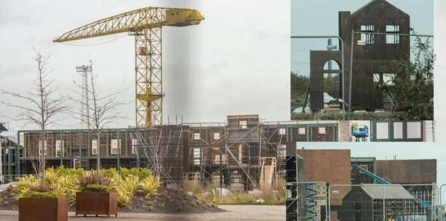 Game of Thrones'un devasa set inşaatı böyle görüntülendi