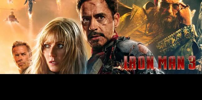 İron Man 3 Bu Hafta Sinemaskop'ta!