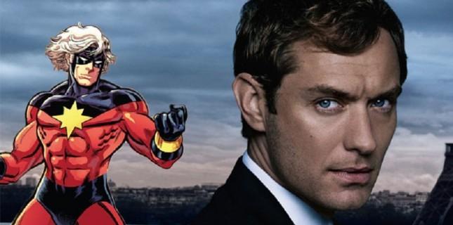 Jude Law 'Captain Marvel' filmi için görüşme halinde