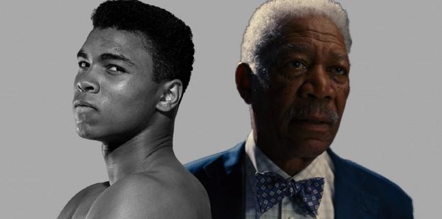 Morgan Freeman'dan Muhammed Ali dizisi geliyor