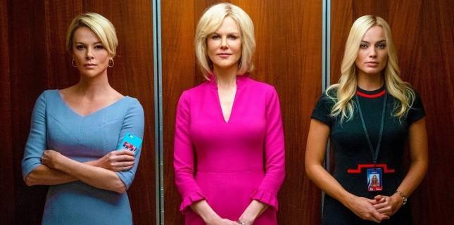 Nicole Kidman, Charlize Theron ve Margot Robbie'li Bombshell'den Yeni Fragman!