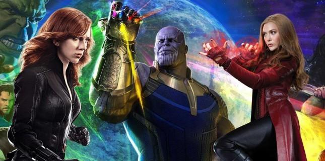 Scarlett Johansson ve Elizabeth Olsen'den Avengers'a veda